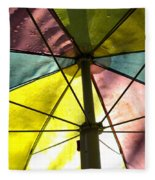 Under The Umbrella Fleece Blanket