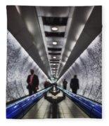 Underground Network Fleece Blanket