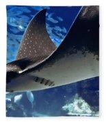 Underwater Flight Fleece Blanket