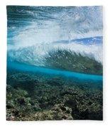 Underwater Wave Fleece Blanket