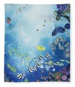 Underwater World IIi Fleece Blanket