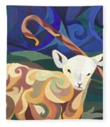Unfamiliar Paths Fleece Blanket