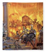 Unidentified Roman Attack Fleece Blanket