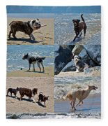 Uninhibited Creatures Fleece Blanket