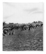 Union Artillery, 1860s Fleece Blanket