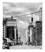 Union Avenue Memphis Fleece Blanket