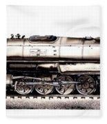 Union Pacific 4-8-8-4 Steam Engine Big Boy 4005 Fleece Blanket
