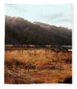 Union Pacific Locomotive Trains . 7d10546 Fleece Blanket