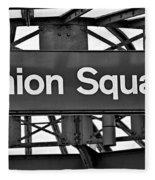 Union Square  Fleece Blanket