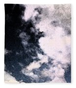 Up In The Clouds 2 Fleece Blanket
