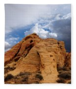 Up To The Clouds Fleece Blanket
