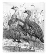 Upland Geese Fleece Blanket