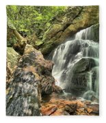 Upper Cascade Hidden Falls Fleece Blanket