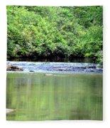 Upper Creek Reflections Fleece Blanket
