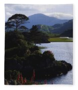 Upper Lake, Killarney, Co Kerry Fleece Blanket