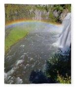 Upper Mesa Rainbow Fleece Blanket