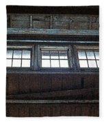 Upper Windows Fleece Blanket
