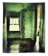 Upstairs Hallway In Old House Fleece Blanket