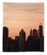 Urban Dreaming Fleece Blanket