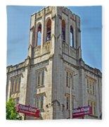 Urban Grace Church Fleece Blanket