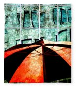 Urban Umbrella Fleece Blanket