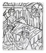Urine Analysis, Patients With Syphilis Fleece Blanket