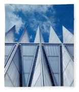Us Air Force Academy Chapel Fleece Blanket
