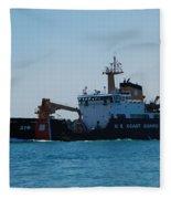 U.s. Coast Guard Fleece Blanket