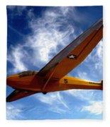 U.s. Marines Glider Fleece Blanket