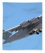 Usaf C-17 Lift Off  Fleece Blanket