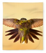 Usaf Hummingbirds Wings Fleece Blanket