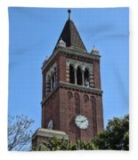 Usc's Clock Tower Fleece Blanket