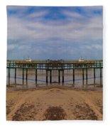 Vacation Reflection Fleece Blanket