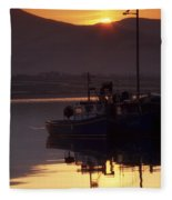 Valentia Island, County Kerry, Ireland Fleece Blanket