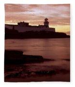 Valentia Island, Cromwell Point Fleece Blanket