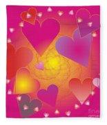 Valentine 2012 Fleece Blanket