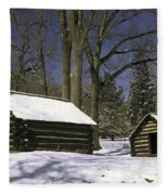 Valley Forge Winter Fleece Blanket