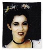 Vampire Bride Fleece Blanket