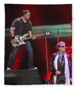Van Halen-7241b Fleece Blanket
