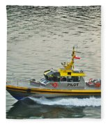 Vancouver Harbour Pilot Fleece Blanket