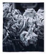 Vase Of Flowers 2 Fleece Blanket