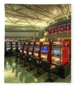 Vegas Airport 2.0 Fleece Blanket