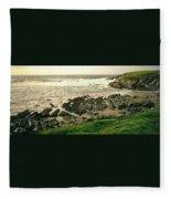 Velencia Island Shore Fleece Blanket