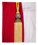 Velvet Curtain Fleece Blanket