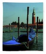 Venetian Gandola Fleece Blanket