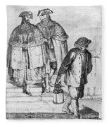Venice: 18th Century Fleece Blanket