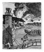 Venice: Arsenal, 1793 Fleece Blanket