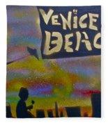 Venice Beach Life Fleece Blanket