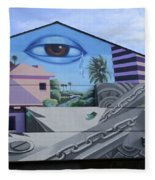Venice Beach Wall Art 3 Fleece Blanket