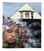 Venice Beach Wall Art 5 Fleece Blanket